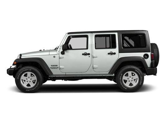 2017 Jeep Wrangler Unlimited Sport 4x4 In Murfreesboro Tn Ford Of